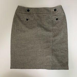 Ann Taylor Size 14 Dress Skirt Plaid EUC Pencil
